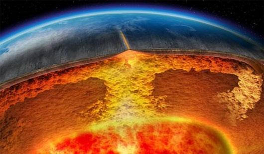4 siêu núi lửa đe dọa sự sống loài người