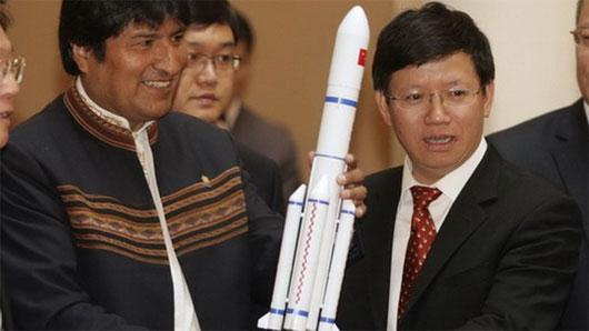 Bolivia phóng vệ tinh ở Trung Quốc