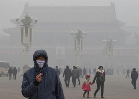 Bắc Kinh dùng mưa rửa sạch khói ô nhiễm