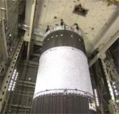 Thử độ bền cho thùng nhiêu liệu hệ thống phóng SLS