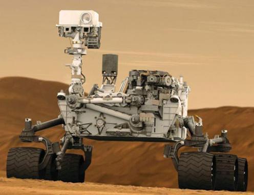 Nâng cấp thiết bị tự hành Curiosity