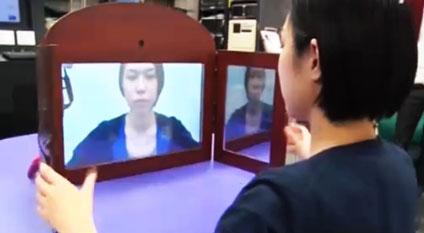 Chiếc gương đặc biệt biến mặt buồn thành vui