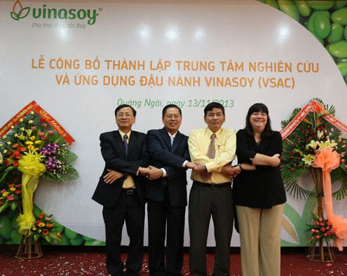 Trung tâm nghiên cứu đậu nành đầu tiên tại Việt Nam