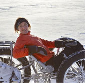 Hành trình đầu tiên đến điểm cực Nam bằng xe 3 bánh
