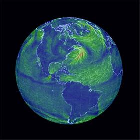 Bản đồ gió toàn cầu