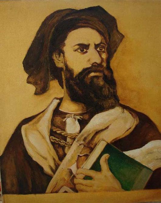 Marco Polo (1254-1324) - người có công mang pháo hoa từ phương Đông về Ý