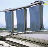 Video: Công trình vĩ đại Vegas của Singapore