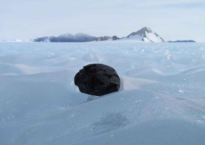2/3 tổng số thiên thạch mà con người thu thập được nằm ở Nam Cực.