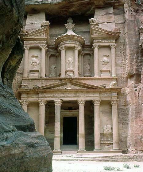 Thành cổ Petra của Jordan
