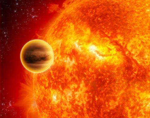 Phát hiện hơi nước ngoài Hệ mặt trời