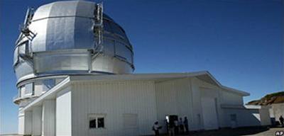 Thử nghiệm kính viễn vọng gương lớn nhất thế giới