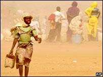 Phát hiện hồ nước ngầm tại Darfur