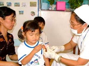 3 triệu USD cho chiến dịch tiêm vắc-xin sởi bổ sung