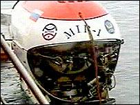 Tàu ngầm Nga chạm đáy Bắc cực
