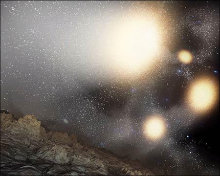 4 chập 1 - cuộc va chạm khổng lồ trong vũ trụ
