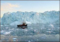 Băng ở Bắc Cực xuống thấp kỷ lục