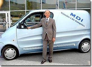 TP.HCM giới thiệu xe hơi chạy bằng... không khí