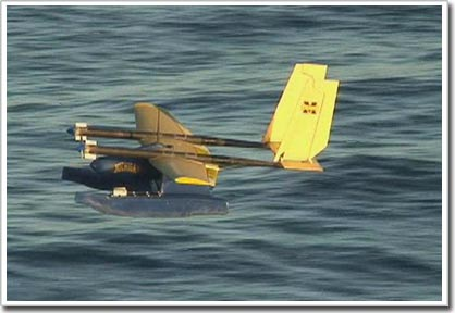 Ra mắt thủy phi cơ không người lái