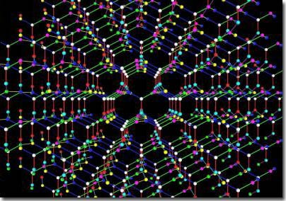 Tiết lộ bí ẩn về cấu trúc của kim cương