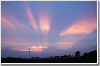 Hiện tượng những đám mây tỏa sáng về đêm