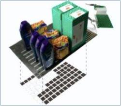 Xốp thông minh giúp kệ hàng siêu thị luôn đầy