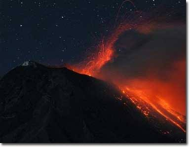 """Núi lửa Tungurahua """"thức giấc"""""""
