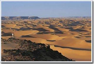 Giải mã bí ẩn đụn cát sa mạc