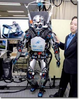 Khỉ nghĩ, robot chạy