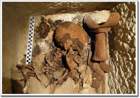 Ngôi mộ hiếm thấy của một quan chức Ai Cập cổ