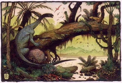 Ngày tận thế của khủng long cực kỳ ẩm ướt