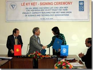 1,3 triệu USD nâng cao năng lực khoa học Việt Nam