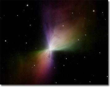 Nơi lạnh nhất trong vũ trụ có hình boomerang