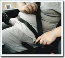 Béo phì liên quan đến việc hạn chế sử dụng dây an toàn