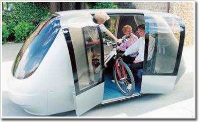 PRT - Taxi tự động sắp xuất hiện ở Anh