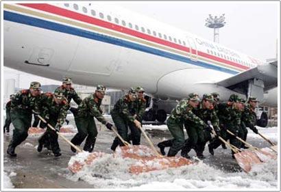 Tuần tới, bão tuyết có thể xảy ra tại Trung Quốc
