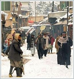 Afghanistan vẫn chìm trong giá lạnh