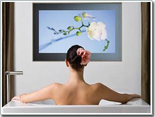 Tivi không thấm nước cho phòng tắm