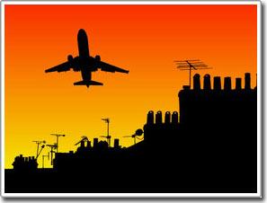 Tiếng ồn ở phi trường sẽ làm tăng huyết áp khi bạn ngủ