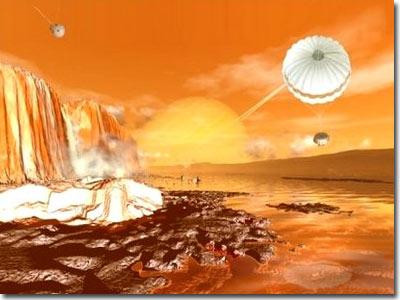 Titan có nhiều dầu hỏa hơn Trái Đất