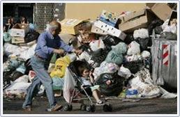 Đức thỏa thuận giúp Ý giải quyết khủng hoảng rác
