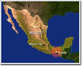 Động đất liên tục ở biên giới Mexico và Mỹ