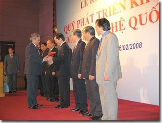 Ra mắt Quỹ Phát triển KH&CN Quốc gia