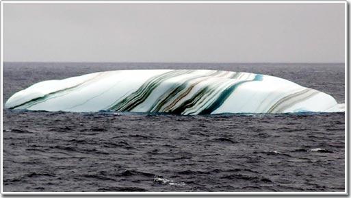 Những tảng băng kỳ lạ tại Nam cực