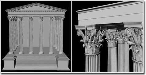 Tái tạo ngôi đền đầu tiên của La Mã bằng kỹ thuật số