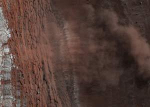 Lở đất trên sao Hỏa