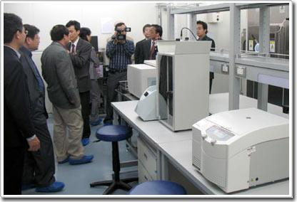 Khánh thành phòng thí nghiệm an toàn sinh học