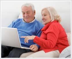 Các kỹ thuật sẽ giúp những người về hưu cảm thấy thoải mái khi sử dụng máy tính