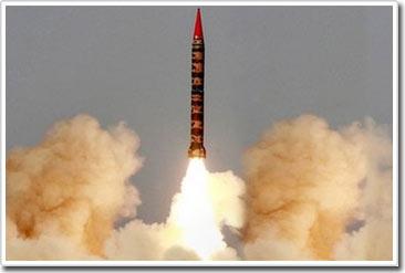 Pakistan thử tên lửa tầm xa