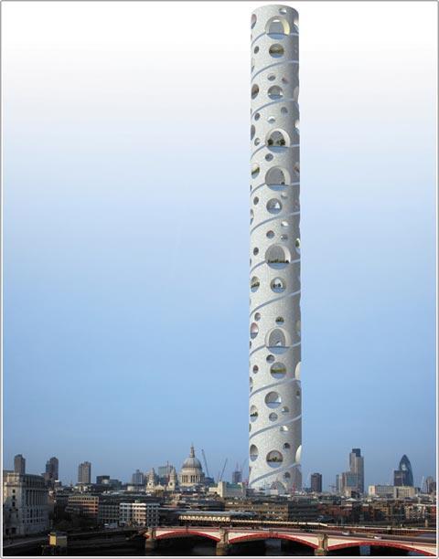 """""""Thành phố"""" trong tòa tháp"""
