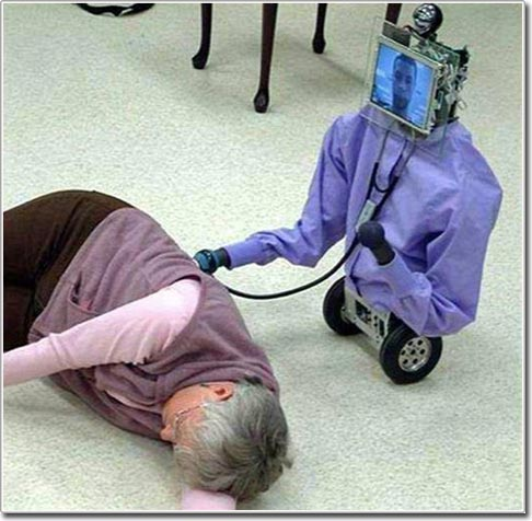 Robot mới chăm sóc người cao tuổi